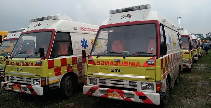 india gift ambulance